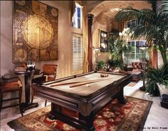 Pool/Game room.