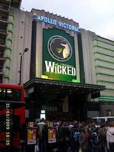 Apollo- Victoria Theater. London, England.