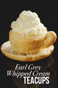 Earl Grey Whipped Cream Teacups