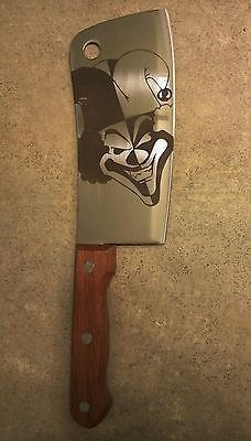 "11"" Carnival of Carnage Knife icp twiztid juggalo insane clown posse hatchetman"