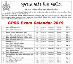 GPSC Exam Calendar 2019-20, GPSC Upcoming Exam Notification Exam Calendar, Academic Calendar, Previous Papers, Exam Schedule, Graduation Post, Last Date, Application Form, Important Dates, State Government