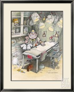 Gary Patterson Art | The Doctor Framed Giclee Print by Gary Patterson at Art.com