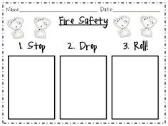 The Fabulous First Grade: Fire Safety