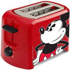 Disney Classic Mickey Mouse Toaster Disney Mickey Mouse, Cozinha Do Mickey Mouse, Deco Disney, Mickey Mouse Kitchen, Mickey Mouse Characters, Classic Mickey Mouse, Mickey Mouse And Friends, Mickey Mouse House, Disney Gift