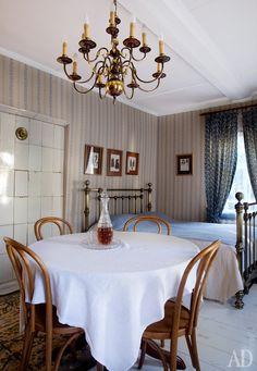 Спальня в гостевом доме на Никольской улице.
