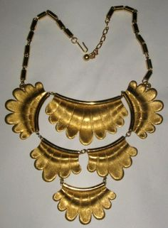 Trifari runway necklace. c. 1970s. Sold for $ 81
