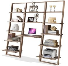Office Décor: Simple shelving unit to display your books and décor!