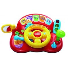 VTECH Baby Vtech Tiny Tot Driver Beep Beep! Get moving with the Tiny Tot Driver! This brightly coloured role-play toy introduces vehicles colours numbers and animals through fun phrases and realistic car sounds Baby can turn the stee http://www.comparestoreprices.co.uk/educational-toys/vtech-baby-vtech-tiny-tot-driver.asp