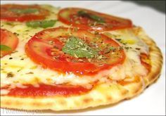 Pizza de Frigideira Caseira ~ PANELATERAPIA - Blog de Culinária, Gastronomia e Receitas