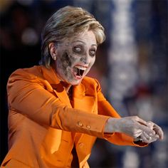 The Real #TheWalkingDead is #HillaryClinton #TWD #Clinton #ClintonScandals #hillaryforprison2016 #neverhillary #hillno  #imnotwithher