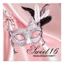 masquerade party ideas sweet 16 - Google Search