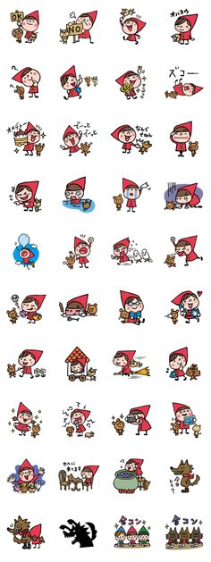How to draw a cat cartoon character design 56 trendy ideas Doodle Drawings, Cartoon Drawings, Cute Drawings, Doodle Art, Little Red Ridding Hood, Red Riding Hood, Kawaii Stickers, Cat Stickers, Web Design