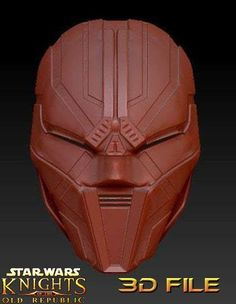 """3d File - Sith Cosplay - Sith Acolyte Mask """"Insectoid"""" - Star Wars Star Wars Sith, Clone Wars, Darth Bane, Cosplay Armor, Sith Lord, Best Cosplay, Sell On Etsy, Textures Patterns, 3d Printing"""