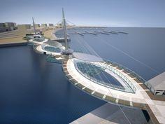 Doka delivers a custom-made formwork solution for the and long pedestrian bridges shaped like ellipses. Bridge Engineering, Civil Engineering, Urban Bike, Doha, Amazing Architecture, Architecture Details, Ellipse Shape, Bridge Structure, Cable Stayed Bridge