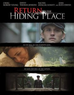 """Return to the Hiding Place, the sequel to """"The Hiding Place"""" by Corrie ten Boom, is releasing this year! // Le Chaim (on the right)"""