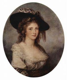 Angelica Kauffmann, Portret van een vrouw, 1780-1785, olieverf op doek, Hermitage Museum, Sint Petersburg, Rusland