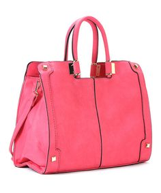 Look at this  zulilyfind! Haute Pink Charlotte Satchel by Robert Matthew   zulilyfinds Fab 38446592aa