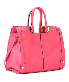 Another great find on #zulily! Haute Pink Charlotte Satchel by Robert Matthew #zulilyfinds