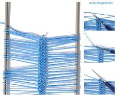 Handmade Ravlik: Hairpin lace crochet stitch