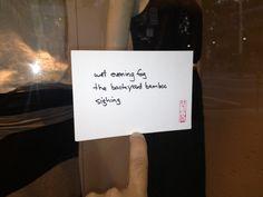 "#haiku 20130511 ""wet evening fog / the backyard bamboo / sighing"" #micropoetry"