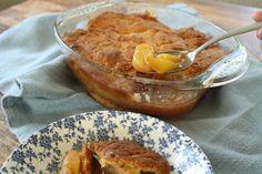 Bakt fersken i form: Klassisk amerikansk peach cobbler - Godt.no - Finn noe godt å spise