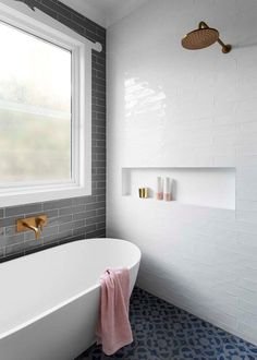 Shower & bath in one small space