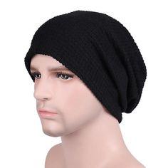 Unisex Winter Autumn beanie Outdoor Warm Crochet Bonnet Hats Knitted Wool Hemming Cap chapeu Skullies Black Gray Khaki Bonnet Hat, Knit Beanie, Knitted Hats, Cape, Unisex, Clothes For Women, Crochet, Outdoor, Collection