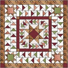 Quilt Kit Faceted Star/Teals and Tans/Pre-cut Fabrics Ready To Sew/Que – Material Maven Quilting Small Quilts, Mini Quilts, Quilt Kits, Quilt Blocks, Flying Geese Quilt, Nancy Zieman, Quilt Of Valor, Star Quilt Patterns, Antique Quilts