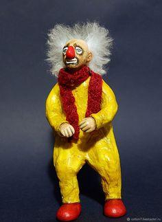 """ватная игрушка """" Мой любимый клоун"""" – купить в интернет-магазине на Ярмарке Мастеров с доставкой"""