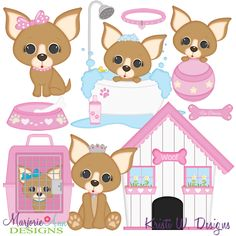 I Love My Chihuahua-Girl SVG-MTC-PNG plus JPG Cut Out Sheet(s) Our sets also include clipart in these formats: PNG & JPG