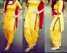 New Punjabi Suit Design Patiala Dress, Punjabi Dress, Pakistani Dresses, Patiala Salwar, Salwar Suits, Indian Dresses, Punjabi Girls, Shalwar Kameez, Anarkali