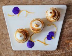 most popular dessert at lunch in the Barn this week: Scotty Noll's Meyer lemon meringue sliders