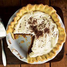 Chocolate-Peanut Butter Pie Recipe | SAVEUR