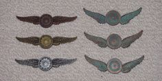 Steampunk Pilot Wings - All Styles and Colours by VictorianSpectre