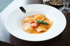 Past & Risotto - Lobster Ravioli Small