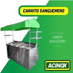 Carrito Sanguchero Modelo 3