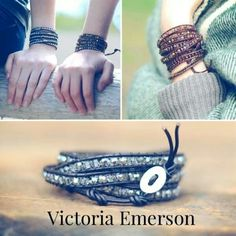 Victoria Emerson wrap bracelet. Got one & love it! These go on sale for $24 & $29 regularly $199!!