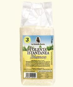 La Grande Ruota - Italian White Instant Polenta, (2)- 17.6 oz. Pkgs. ** You can get additional details at the image link.