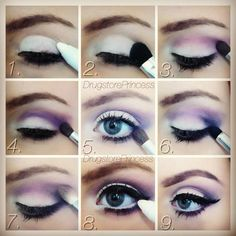 Makeup : DIY EYE MAKE-UP Makeup tips and ideas
