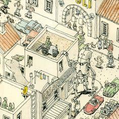 Mattias Adolfsson is a freelance Illustrator living in Sigtuna just outside of Stockholm Sweden.