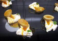 Flan con peperina y cedrón: un postre cordobés con aire serrano Chefs, Yerba Mate, Pudding, Desserts, Food, Individual Desserts, Restaurants, Xmas, Eten
