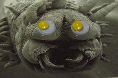 animaux marins aux yeux en plastique 11   des animaux marins aux yeux en plastique   raie poisson pixar photoshop photo parodie oeil océan m...