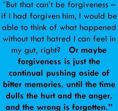 Allegiant forgiveness quote