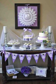 Need To Have A Party With This In It For Something Elegant Dessert Table
