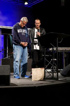 Benjamin Nolot CEO and founder of Exodus Cry and Don Brewster, founder of Agape International Missions