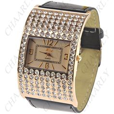 http://www.chaarly.com/women-watches/48249-golden-toned-arched-quartz-pu-leather-wrist-watch-analog-watch-timepiece-with-rhinestones-for-woman-lady-black-strap.html