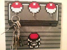 Pokemon Key hanger - Pearler beads