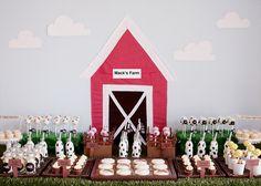 Farm Yard Dessert Table by rubyju, via Flickr