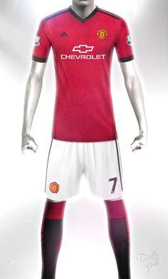 5402fd565 Conceptual Manchester United Home kit design