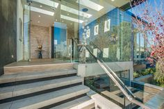 Contemporary Luxury Home Construction Group, Construction Services, Group Projects, Front Entry, Family Traditions, Luxury Homes, Stairs, Contemporary, Building